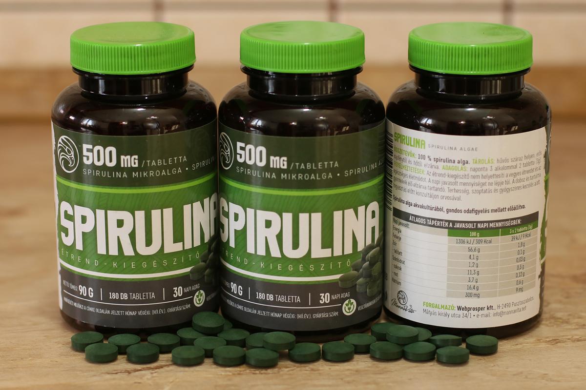 Elképesztően szuper és egészséges a spirulina