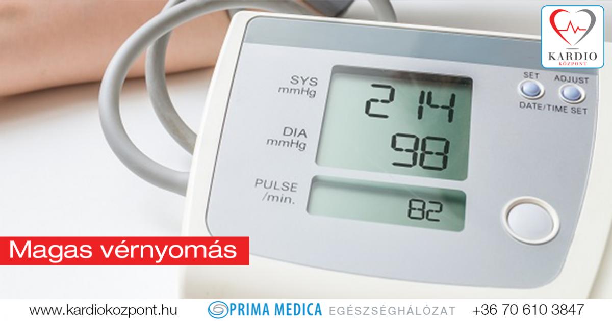 2 fokú magas vérnyomás az amikor