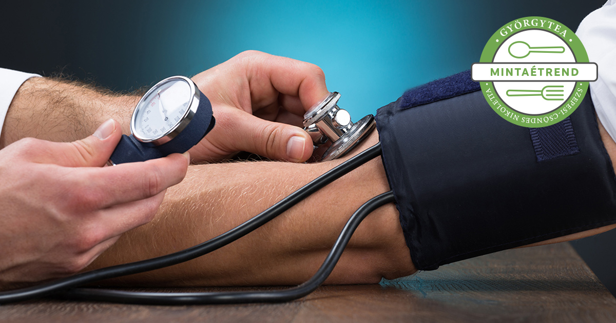 diéta 3 fokú magas vérnyomás esetén egy hétig magas vérnyomás karneol terápiája