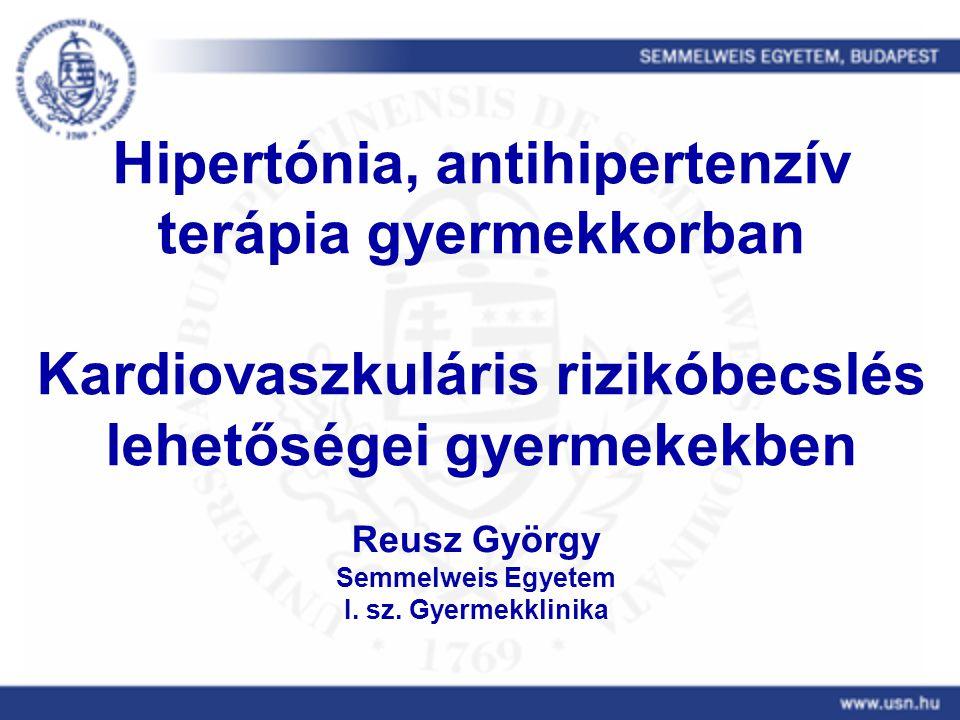 a krónikus hipertónia terápiás módszerei