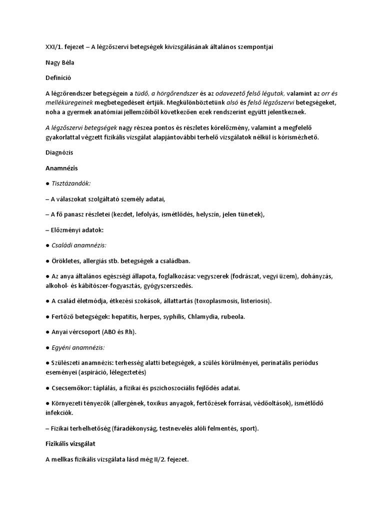 Hipertónia: besorolás és tünetek - Endokarditisz