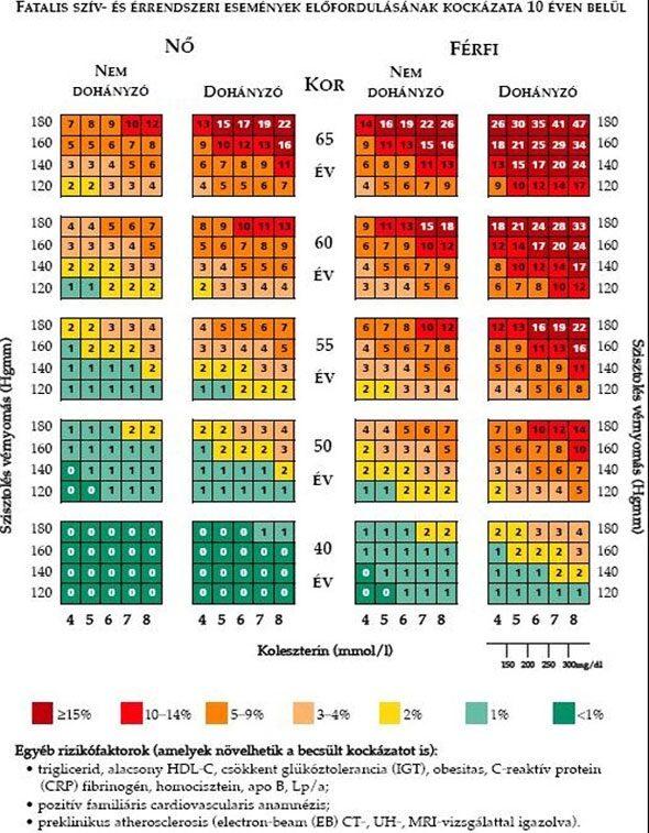 magas vérnyomás és szív iszkémia elleni gyógyszerek