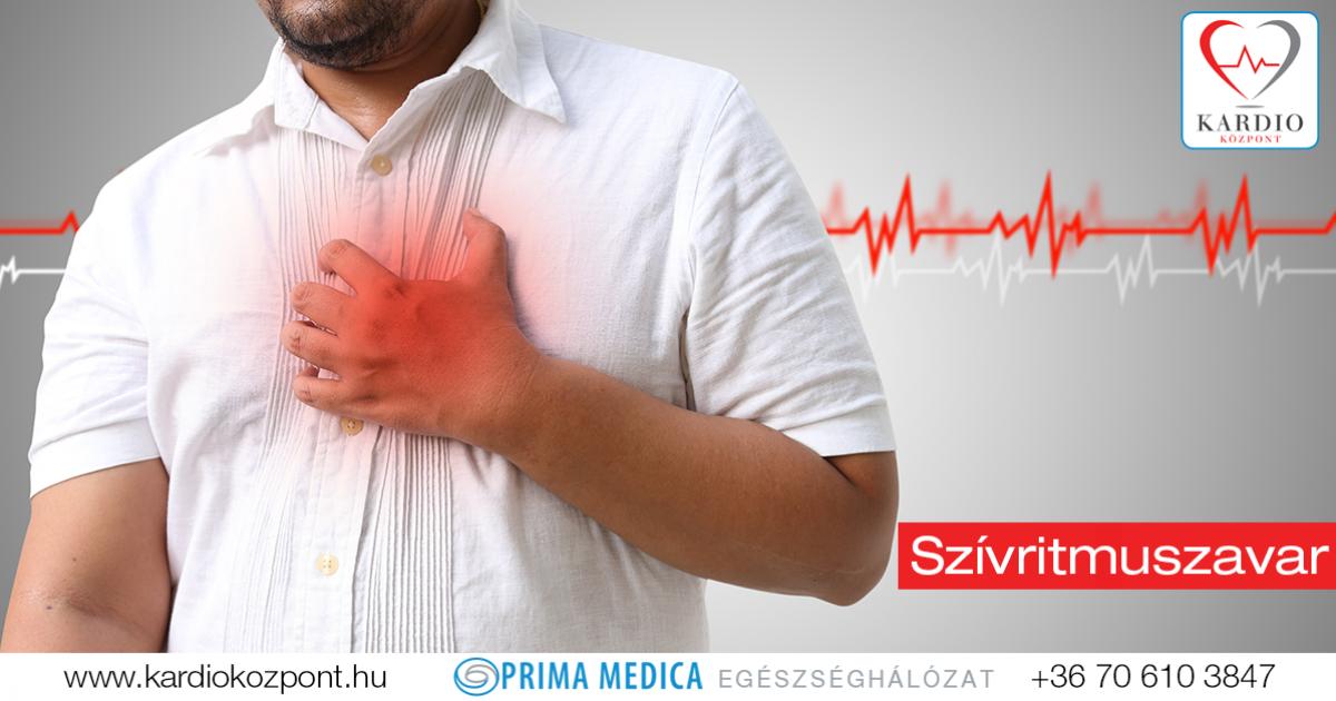 szívritmuszavar magas vérnyomással mint veszélyes magas vérnyomású ugrókötél