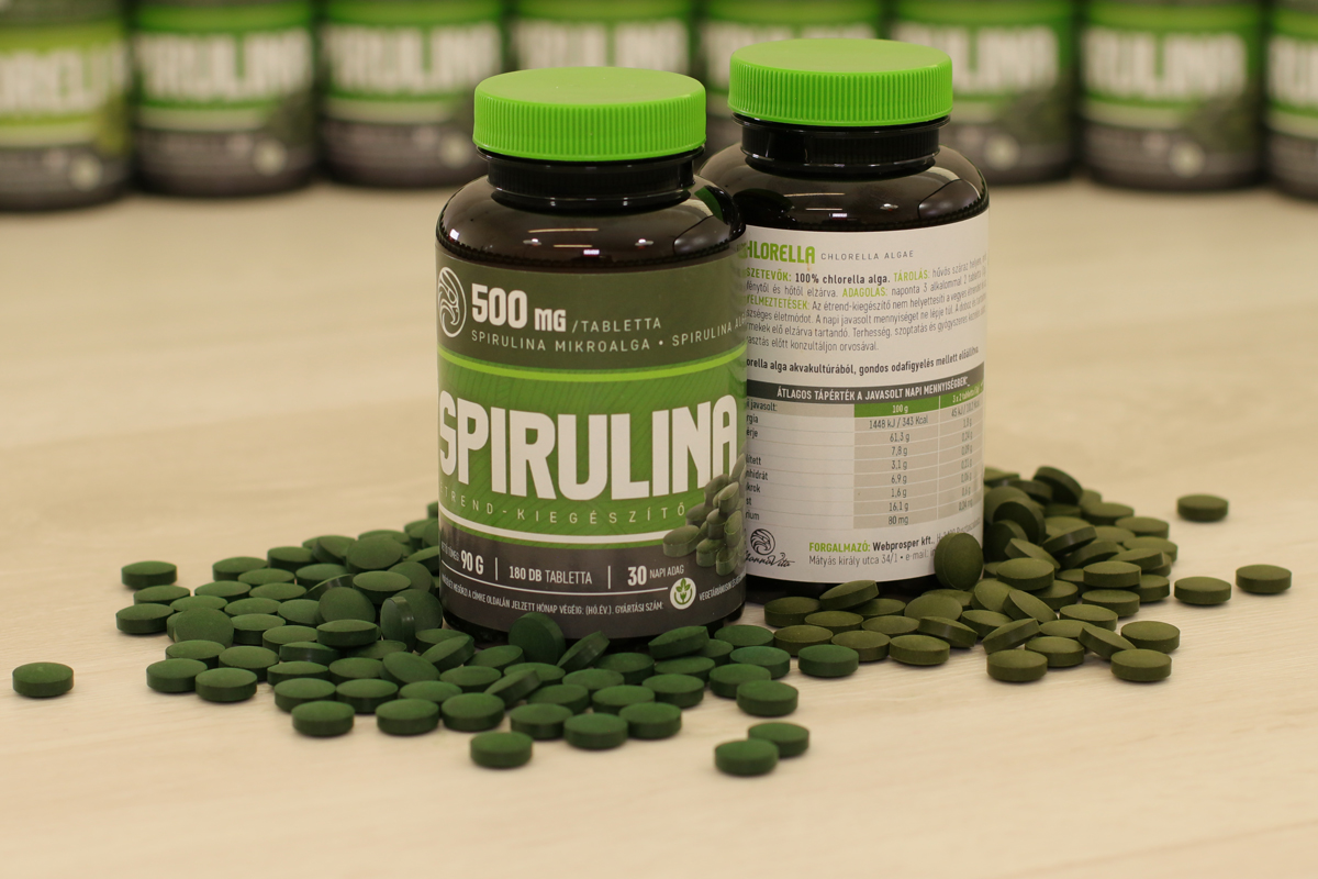 spirulina és magas vérnyomás